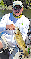 Big Trophy Smallmouth are Common by Brad